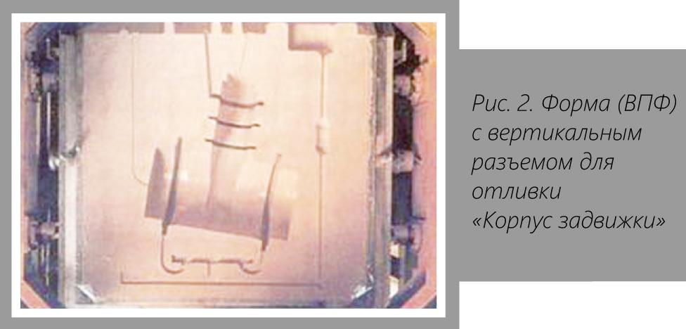 Динус-Сталь, ООО. Универсальная технология производства отливок запорной арматуры. Вакуумно-пленочная формовка - Изображение
